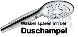 Duschampel – die Ampel zum Wasser sparen beim Duschen